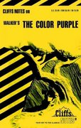 CliffsNotes on Walker's The Color Purple 1st edition 9780822003083 0822003082