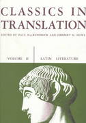 Classics in Translation, Volume II 1st Edition 9780299808969 0299808963