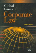 Global Issues in Corporate Law 0 9780314159779 0314159770