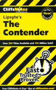 CliffsNotes on Lipsyte's The Contender 1st edition 9780764585531 0764585533