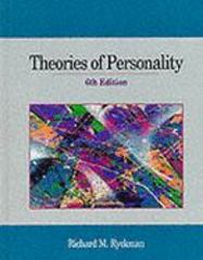 Theories of Personality 6th Edition 9780534339760 053433976X