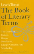 The Book of Literary Terms 0 9780874519556 0874519551