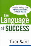 The Language of Success 1st edition 9780814474730 081447473X