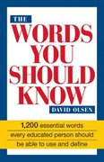 The Words You Should Know 1st Edition 9781558500181 1558500189