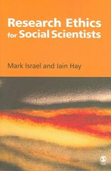 Research Ethics for Social Scientists 1st edition 9781412903905 1412903904