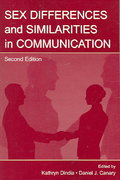 Sex Differences and Similarities in Communication 2nd Edition 9780805851427 0805851429