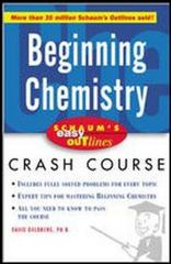 Beginning Chemistry 1st edition 9780071422390 0071422390