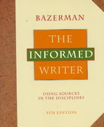 The Informed Writer 5th edition 9780395687239 0395687233
