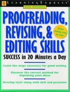 Proofreading, Revising, and Editing Skills Success in 20 Minutes a Day 1st edition 9781576854662 1576854663