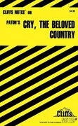 CliffsNotes on Paton's Cry, The Beloved Country 1st edition 9780764585012 0764585010