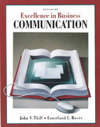 Excellence in Business Communication 5th edition 9780130909473 0130909475