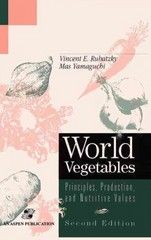 World Vegetables 2nd Edition 9780834216877 0834216876