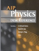 AIP Physics Desk Reference 3rd edition 9780387989730 0387989730