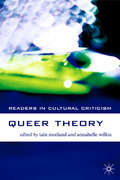 Queer Theory 1st Edition 9781403916945 1403916942