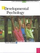 Developmental Psychology 6th edition 9780534572143 0534572146