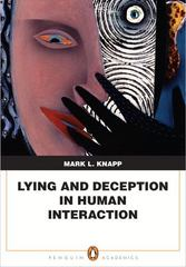 Lying and Deception in Human Interaction 1st edition 9780205580644 0205580645