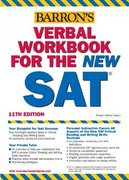 Verbal Workbook for the New SAT 11th edition 9780764124112 0764124110