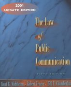 The Law of Public Communication 5th edition 9780321087577 0321087577