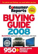 Consumer Reports Buying Guide 0 9781933524122 193352412X