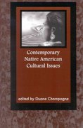 Contemporary Native American Cultural Issues 1st Edition 9780761990598 0761990593