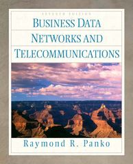 Business Data Networks and Telecommunications 7th edition 9780136153405 0136153402