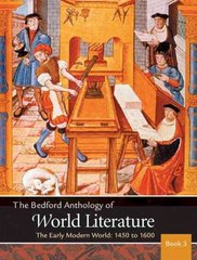 The Bedford Anthology of World Literature Book 3 1st edition 9780312402624 0312402627