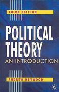 Political Theory, Third Edition 3rd Edition 9780333961803 0333961803