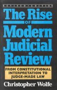 The Rise of Modern Judicial Review 0 9780822630265 0822630265