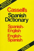 Cassell's Spanish-English, English-Spanish Dictionary 19th edition 9780025229105 0025229109
