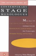 The Actor's Book of Contemporary Stage Monologues 1st Edition 9780140096491 0140096493