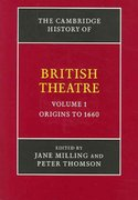 The Cambridge History of British Theatre since 1895 0 9780521827904 0521827906