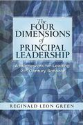 The Four Dimensions of Principal Leadership 1st Edition 9780131126862 0131126865