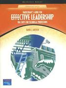 Effective Leadership 1st edition 9780130485106 0130485101