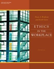 Ethics in the Workplace 3rd Edition 9781133715689 1133715680