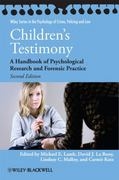 Children's Testimony 2nd edition 9780470686782 0470686782