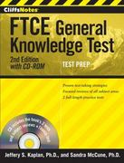 CliffsNotes FTCE General Knowledge Test with CD-ROM, 2nd Edition 1st Edition 9780544181618 0544181611