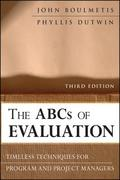 The ABCs of Evaluation 3rd Edition 9780470873540 047087354X