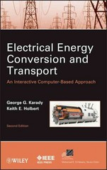 Electrical Energy Conversion and Transport 2nd Edition 9780470936993 0470936991