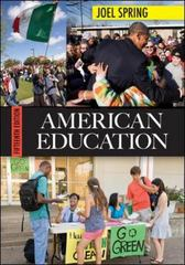 American Education 15th edition 9780078024344 007802434X
