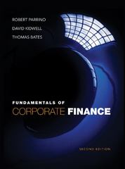 Fundamentals of Corporate Finance 2nd Edition 9781118213759 1118213750