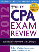 Wiley CPA Exam Review 2012, 4-Volume Set 9th edition 9780470923948 0470923946