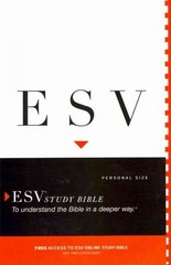 ESV Study Bible, Personal Size 1st Edition 9781433524615 1433524619
