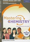 MasteringChemistry with Pearson eText -- Standalone Access Card -- for Introductory Chemistry 4th edition 9780321730275 0321730275