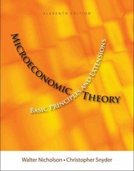 Microeconomic Theory 11th Edition 9781111525538 1111525536