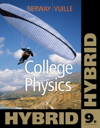 College Physics, Hybrid (with Enhanced WebAssign Homework and eBook LOE Printed Access Card for Multi Term Math and Science) 9th edition 9781111572075 1111572070