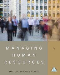 Managing Human Resources 11th Edition 9781111580223 1111580227