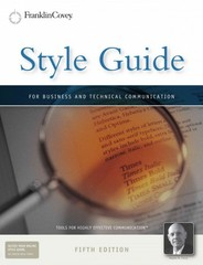 Style Guide 5th edition 9781936111183 1936111187