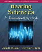 Hearing Sciences 1st Edition 9780133090994 013309099X