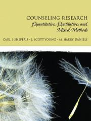 Counseling Research 1st Edition 9780131757288 0131757288