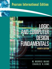 Logic and Computer Design Fundamentals 4th edition 9780132067119 0132067110